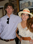 Catie and Kyle on their way to the Carolina Cup