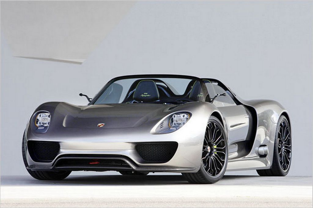 Porsche 918 Spyder Hybrid Concept Luxury And Fast Cars