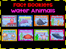 Water Animal Booklets
