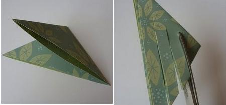Todo con papel estrellas de navidad de papel - Como hacer estrellas de navidad ...