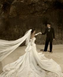 Foto Pre Wedding Jupe Gaston