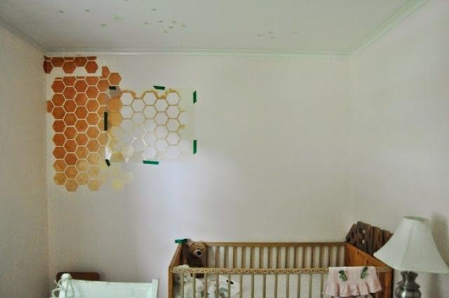 nursery wall paint stencils uk