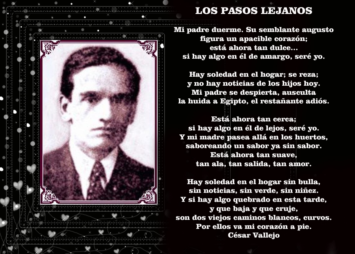 Cesar Vallejo mejores poemas