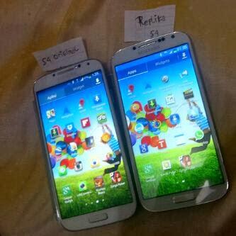 Perbedaan Samsung Asli dengan Samsung Replika
