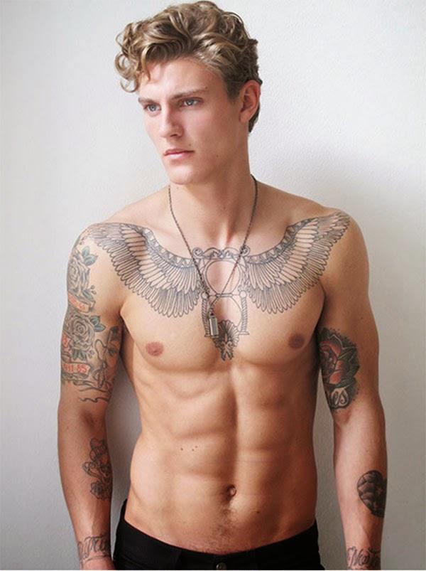 Những mẫu hình xăm ở ngực đẹp cho nam