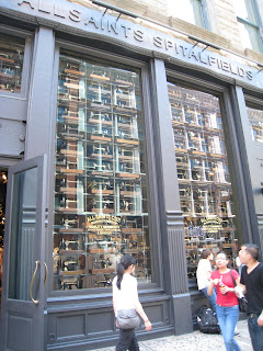 All Saints Spitalfields, SoHo: Retailers Integrate iPad Into Shopping Experience