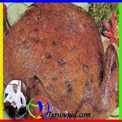 Ayam Goreng Isi Daun Singkong