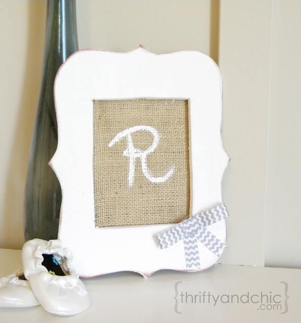 diy scallop frame