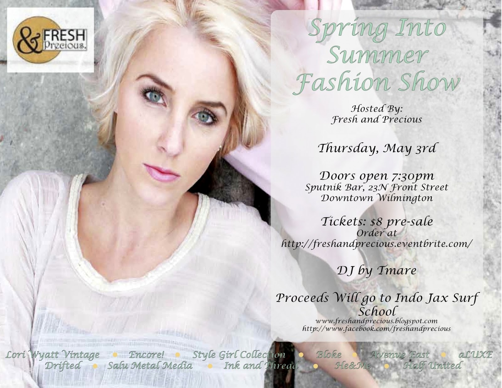 Fresh And Precious Spring Into Summer Fashion Show