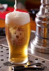 bière oursonne avec bandeau
