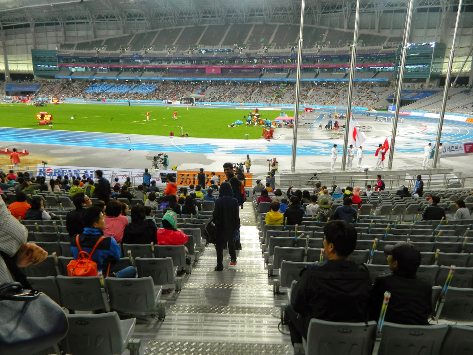 Track and field events in Incheon