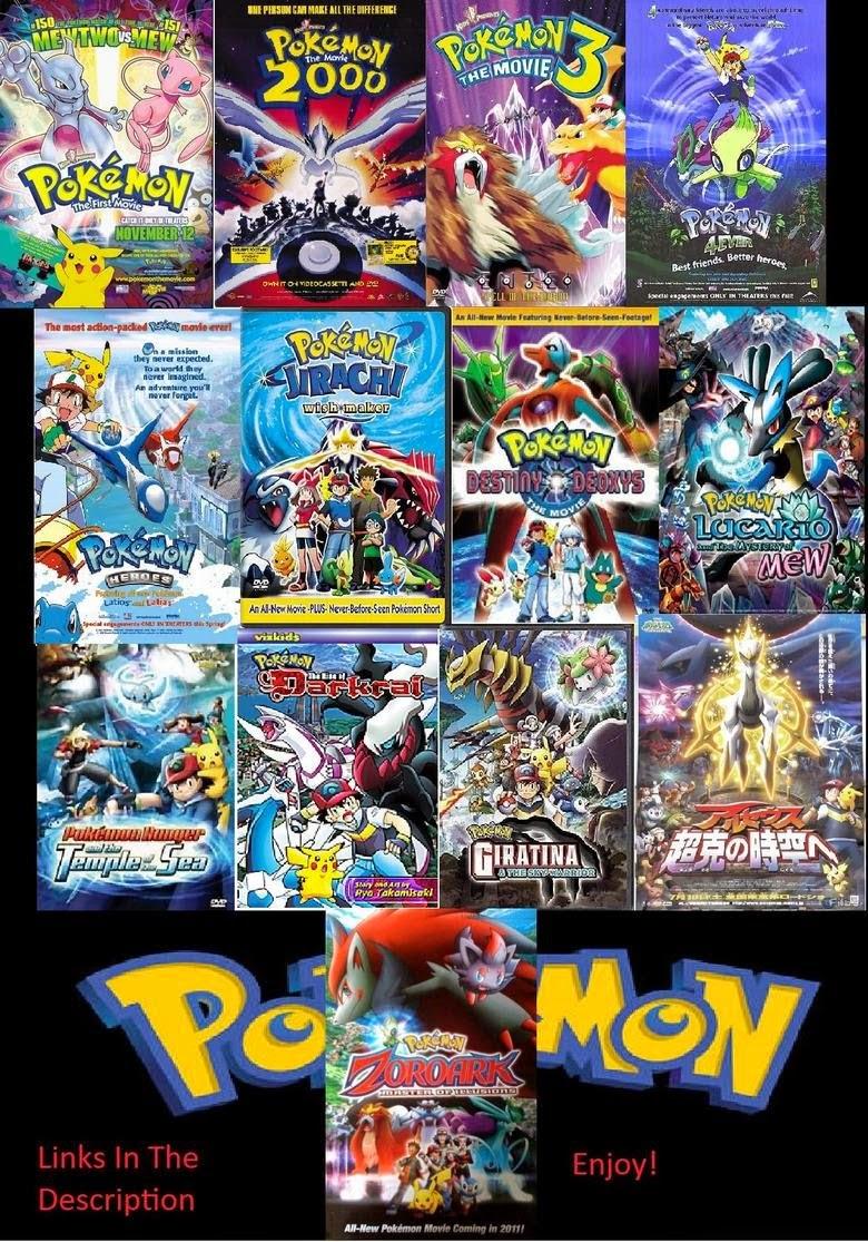 Pokemon Movie Collection (1998 - 2008) tainies online oipeirates