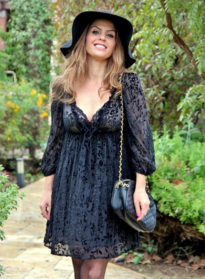 בלוג אופנה Vered'Style טוטאל לוק שחור