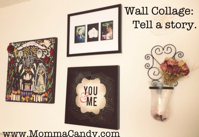 wall collage hanging pictures arrangement