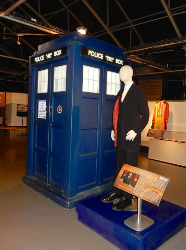 12th Doctor Who costume TARDIS