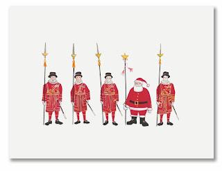 santa's yeomen holiday card