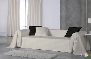 Foulard para sofá de Amaya Arzuaga