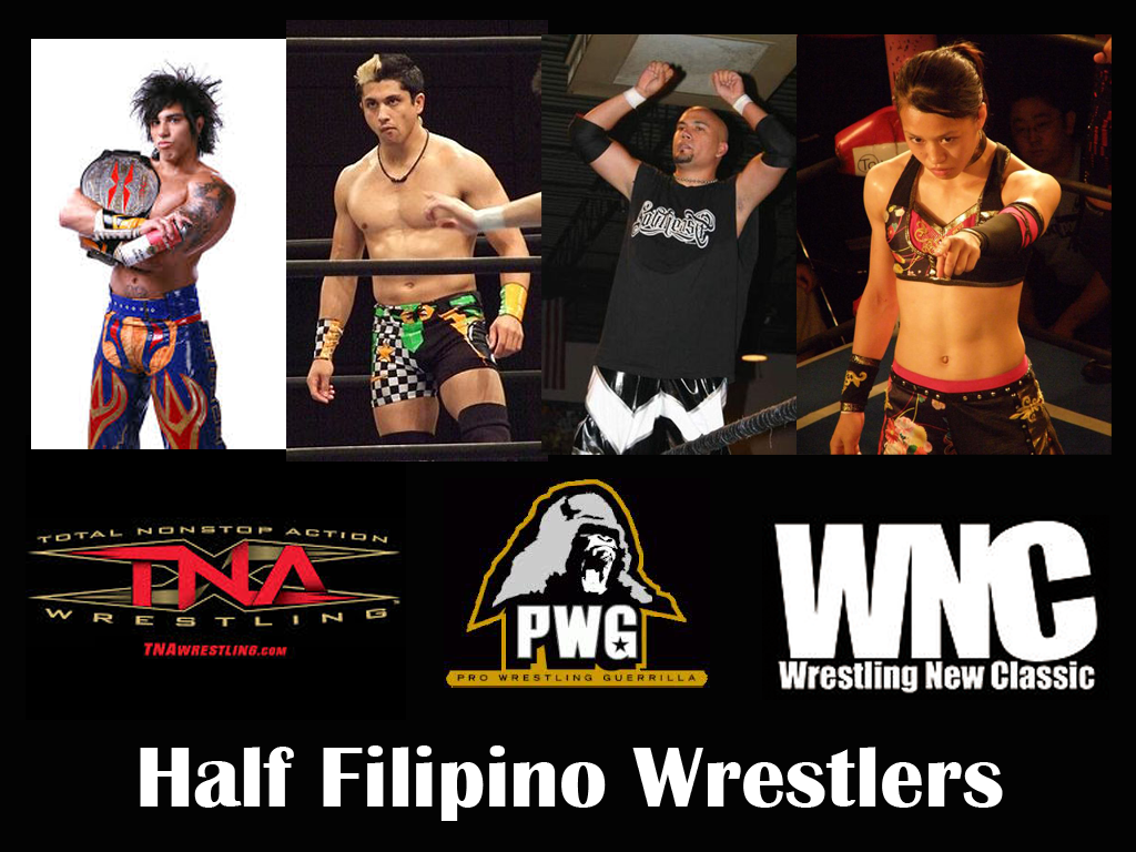 Meet the Half Filipino Wrestlers of this Generation