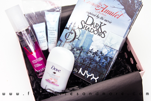 GLOSSYBOX SEPTEMBER 2012 CANADA-FUTILITIESANDMORE-FUTILITIES AND MORE-FUTILITIESMORE-BEAUTY BLOG-1
