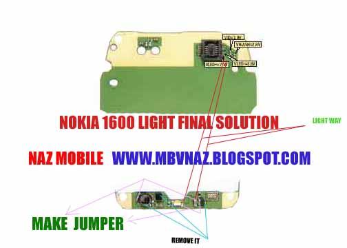 Nokia 1600 Light Problem