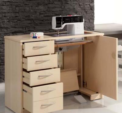 Seoanetextil muebles para m quinas dom sticas - Mueble para maquina de coser ...