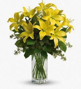 lily-sunshine-bouquet