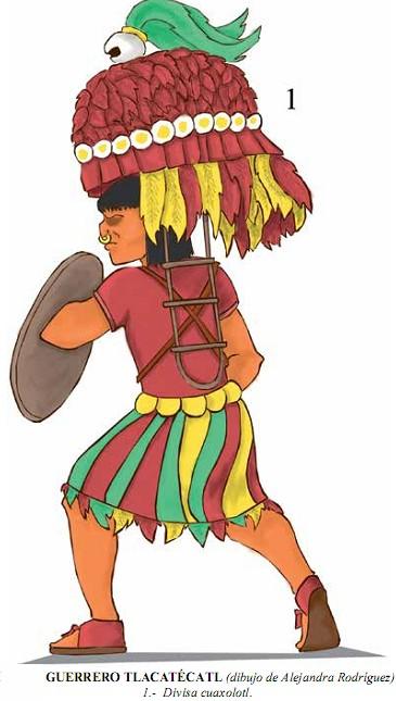 Los guerreros Aztecas