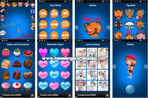 Descarga Stickers for WhatsApp gratis en tu telefono Windows Phone
