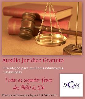 Auxílio Jurídico Gratuito na ONG DCM. Confira!