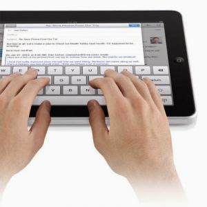 How to Type Properly on the Touch Screen
