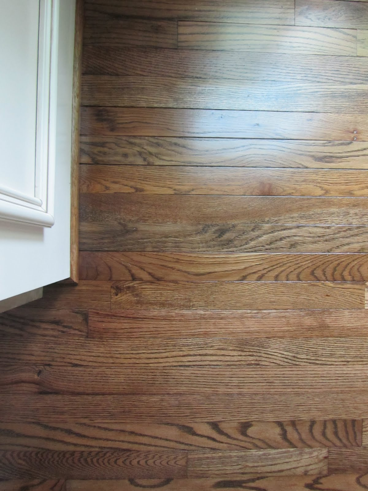 Acanthus and acorn the process of refinishing hardwood for Resurfacing wood floors