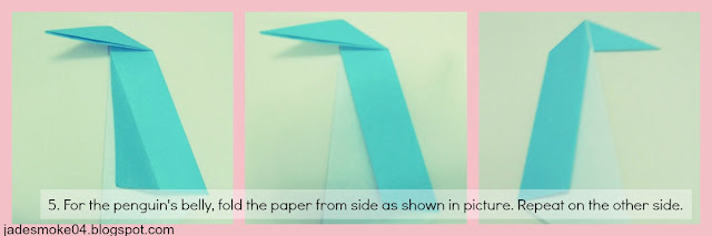 DIY origami penguin step 5 (jadesmoke04.blogspot.com)