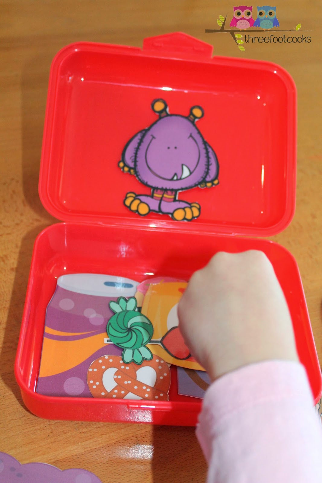 H is for Healthy Lunchboxes Busy Bag