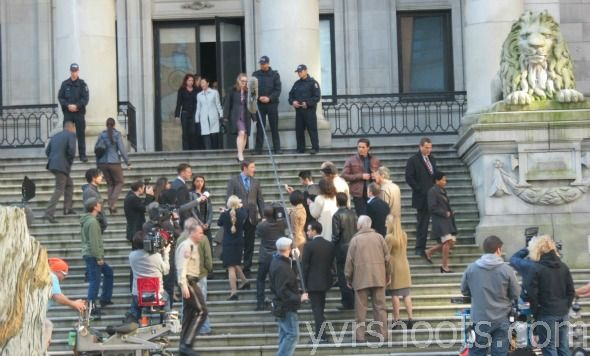 Continuum - Season 2 - Set Photos - 10th April 2013
