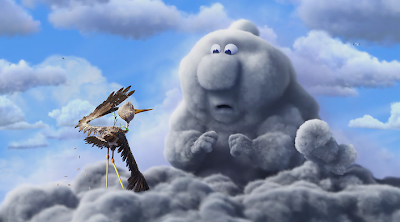 Corto Animado de los Estudios Pixar - Party Cloudy