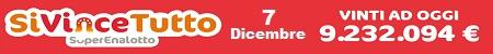 SiVinceTutto mercoledi 7 dicembre 2016