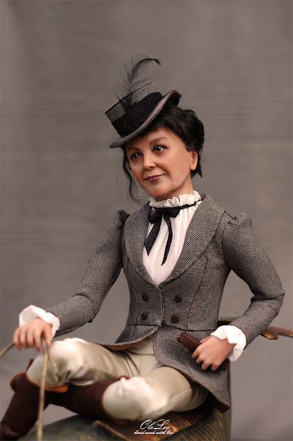 портретная кукла по фото oleloo куклы оксаны панченко portret doll портретные куклы на заказ подарок на юбилей