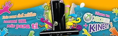 premio consola xbox 360 kinect promocion Scribe mes del niño Mexico 2011
