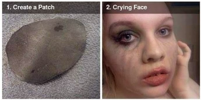 Scary Missing Eye Makeup DIY ~ Damn Cool Pictures