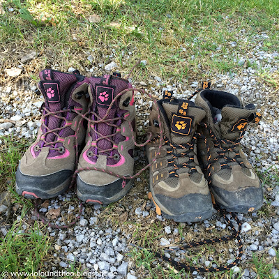 Berge Wandern / Hiking / Kids