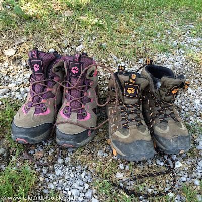 Berge Wandern / Hiking / Kids