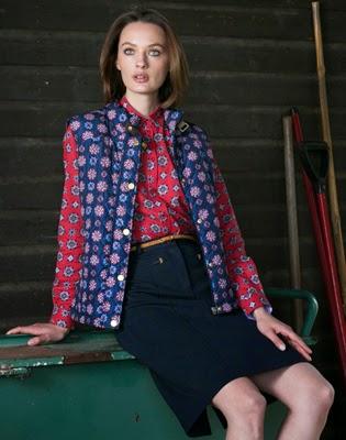 Lloyds otoño invierno 2014 2015 camisa estampada y chaleco