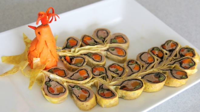IMPERIAL OMELETTE ROLL - CHẢ PHỤNG