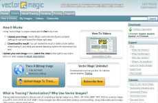 Vector Magic: convertir mapa de bits a imágenes vectoriales online