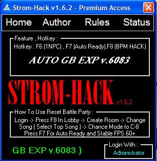 Cheat Auto GB Exp BBOY v.6083 Trial 5 Hari