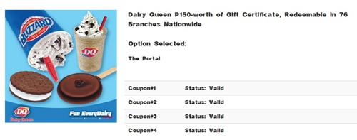 Dairy-Queen, food promo, Ensogo-voucher, Ensogo-review, Dairy queen blizzard