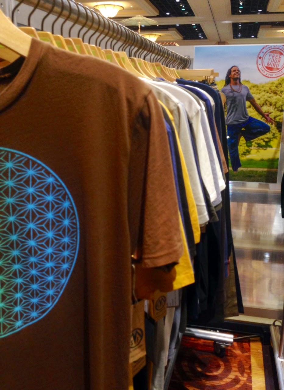 soul+flower+mens+display - Soul Flower Booth at POOL in Las Vegas