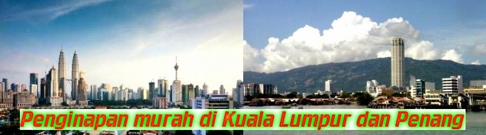 Penginapan murah di Malaysia