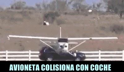 avioneta-colisiona-coche