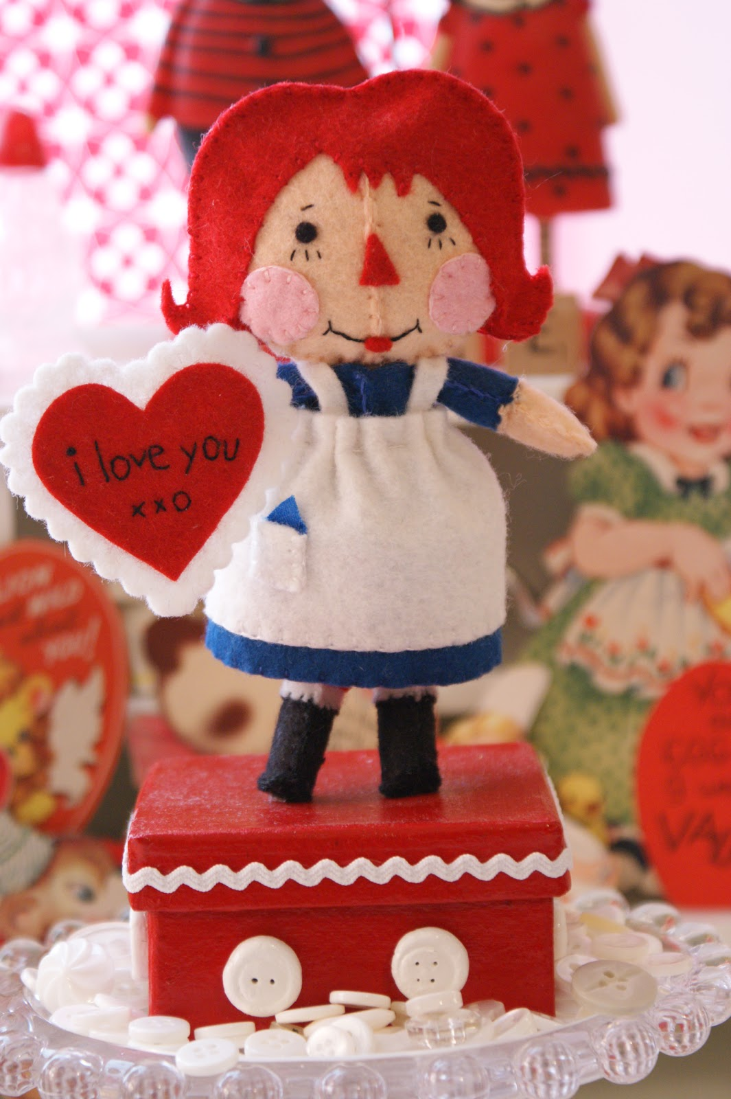 cotton pickin u0027 fun raggedy ann i love you